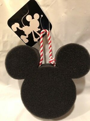 Disney Junk Food For Target Mickey Mouse Head Foam Sponge For Bathing Nwt