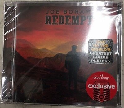 Joe Bonamassa Redemption 2018 Target Exclusive CD