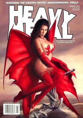 Heavy Metal Collection 264 Issues On 4 Disc Set Free Shipping More