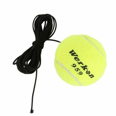 Wool Tennis Trainer Ball Elastic Rope Rubber Band Training Tennis Balls