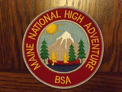 Boy Scout Jacket Patch Jp Maine National High Adventure