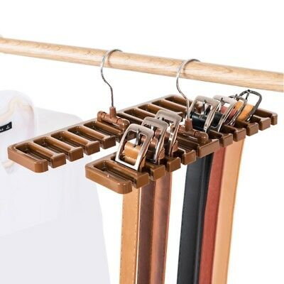 Charmant Belt Hanger Organizer Storage Rack Tie Space Saver Tops Bra Rotating Holder  Rack