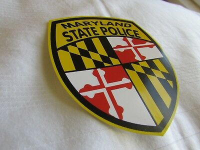 MD Maryland State Police Decal Sticker