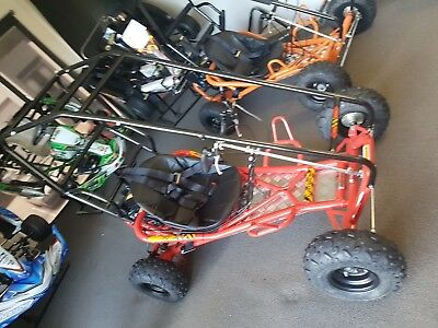 Adult 198Cc Gokart. Lots Of Fun  , 50Kph.  Seat Belt Rollcage . , Red Only .