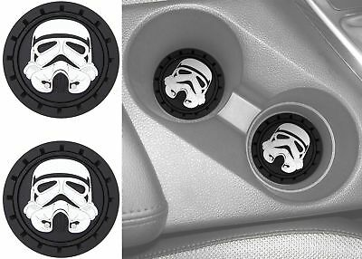 Official Licensed Star Wars Stormtrooper Cup Holder Coaster Universal 2pc Set