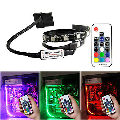 RGB Magnetic LED Light Strip Full Kit For PC Computer Case Fixed By Magnet