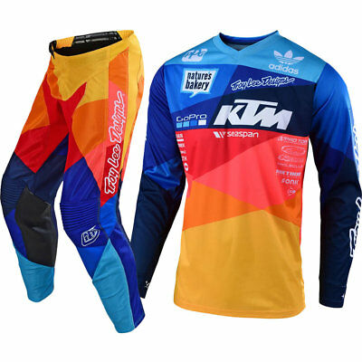 NEW Troy Lee Designs 2019 GP Air Jet Jersey Pant KTM TLD Team Motocross Gear Set