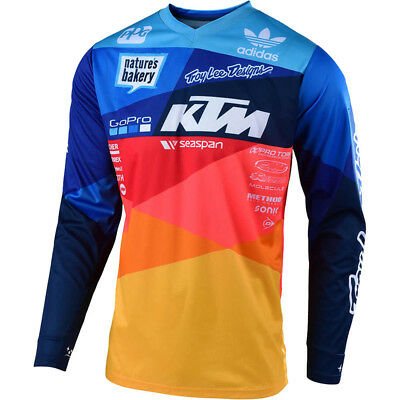 NEW Troy Lee Designs 2019 MX Gear GP Air Jet KTM TLD Team Motocross Jersey