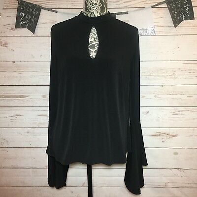 Forever 21 Plus Size 1x Polka Dot Bow Blouse Top New W Tags