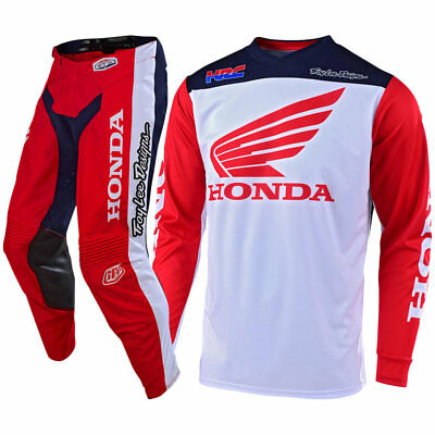 NEW Troy Lee Designs 2019 MX GP Honda Red White Navy TLD Motocross Gear Set
