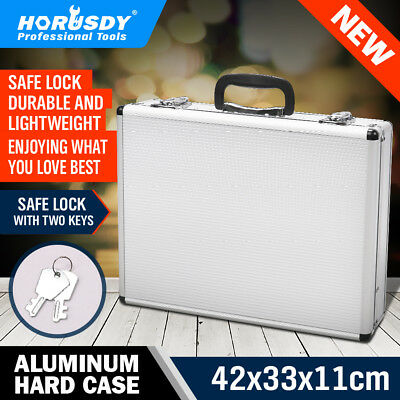 Aluminium Framed Equipment Tool Handy Case Portable Carrier Container Toolbox