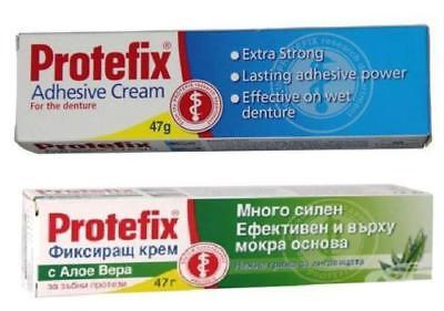 Protefix ® Adhesive 47g - Extra Strong Denture Fixing Cream