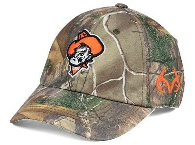 newest 5f66b 10ae1 Oklahoma State Cowboys NCAA TOW Real Tree Camo Stretch Fitted Hat