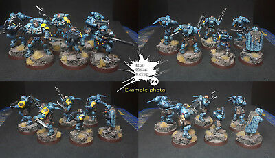Warhammer 40k, Primaris Space Wolves Kill team - COMMISSION