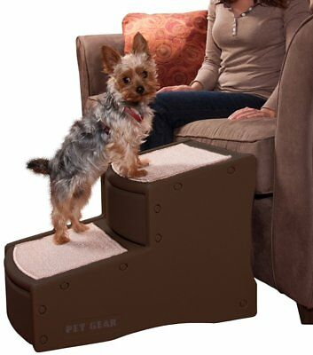 Pet Gear Easy Step II Pet Stairs, 2 Step for Cats/Dogs up to 150 Pounds,