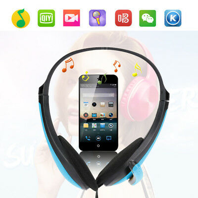3.5mm Surround Stereo Gaming Headset Over Head Headphone w/ Mic For PC Laptop IB