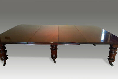 MAGNIFICENT 9.3ft Grand Authentic Victorian Antique dining table French polished