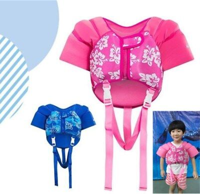 Kids Swim Safe Vest with Sleeves Baby Toddler Life Jacket PFD 1-5 Years 8-26KGS