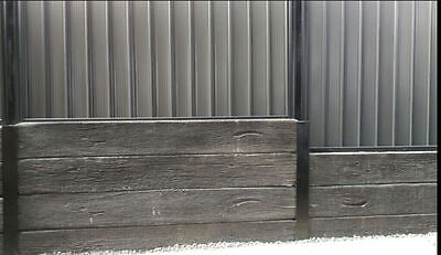 Retaining wall Concrete Sleepers 2150mm long x 75mm X 250mm