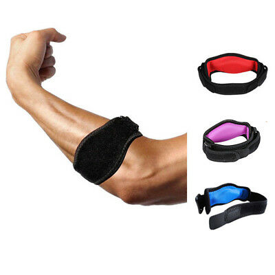 Elbow Support Compression Strap Brace Tendonitis Lateral Adjustable Tennis Band