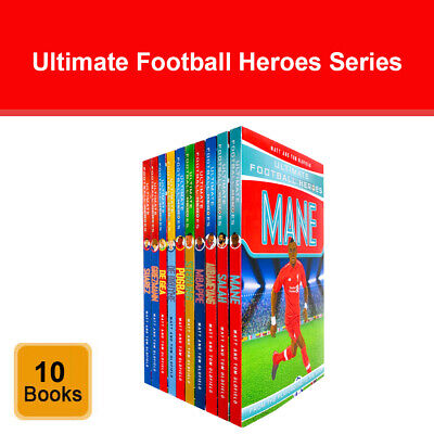 Ultimate Football Heroes Series 2 Collection 10 Books Set by Matt & Tom Oldfield