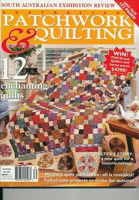 Australian Patchwork and Quilting magazine Volume 16 number 8
