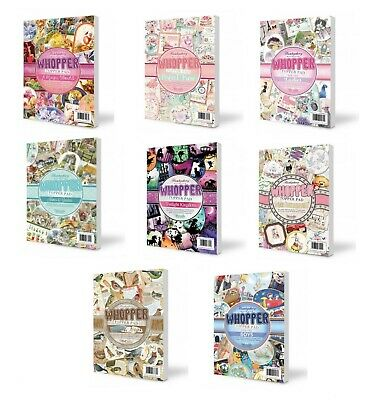 Hunkydory Whopper Topper Pad  - 40 Luxury Foiled & Die-Cut Topper Sheets