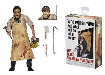 "Texas Chainsaw Massacre Leatherface Re-Issue 7"" Action Figure NECA Horror"