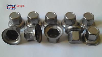 20x 32mm Wheel Nut Cover Stainless Steel for Lorry Trailer Bus Truck LKW Trailer