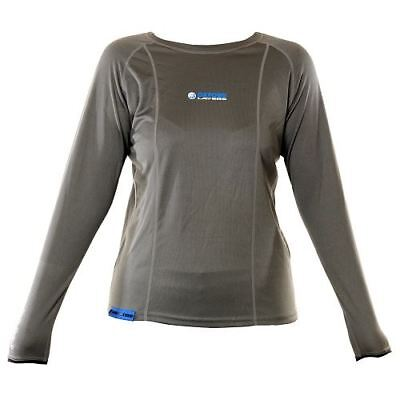 Oxford Cool Dry Womens Motorcycle Base Layer Long Sleeve Top Motorbike Shirt New