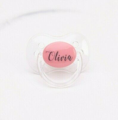 Avent Dummy Personalised *Laser Engraved-Can Be Sterilised* Soother Pacifier