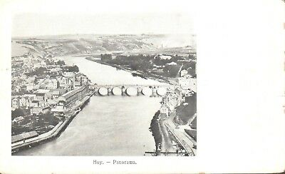 CPA - Belgique - Liège - Huy - Panorama