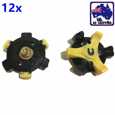 12pcs Replacements Golf Shoe Spikes Metal Thread Studs Accessories OBGO66901x12