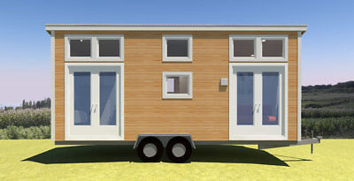 Tiny Homes,  Insulated Kit or Fully Installed, Transportable SPARK omptche-24