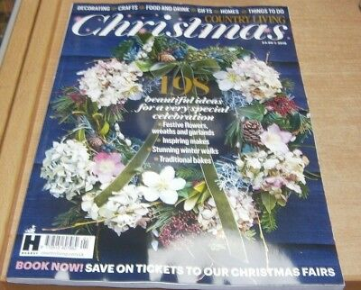 Country Living Christmas magazine 2018 beautiful ideas for a special celebration