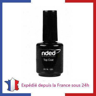 NDED Top Coat ou Primer 15ml pour Vernis à Ongles Nail Manucure