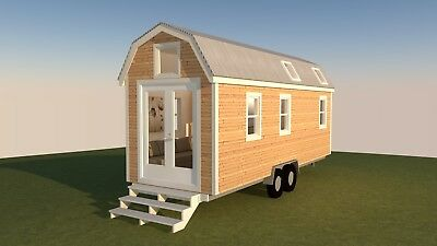 Tiny Homes,  Insulated Kit or Fully Installed, Transportable SPARK  Talmage 15