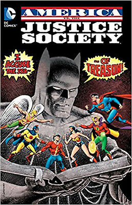 America Vs The Justice Society Of America TP, Thomas, Roy, New Book