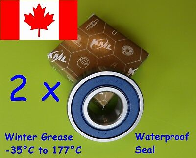6203-2RS Bearing ( 6203 RD ) C3 Premium Sealed Ball Bearing 17x40x12 mm( 2 PCS )