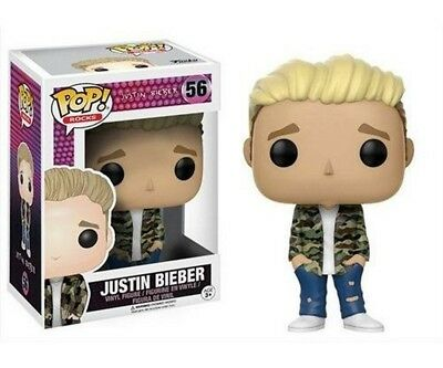 Funko Pop! Rocks Justin Bieber Vinyl Figur In Box #56 Neu / Ovp