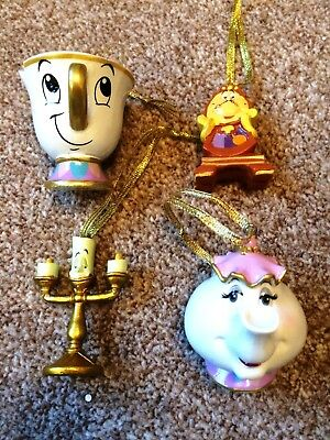 Christmas Tree Baubles/Ornament Beauty & The Beast Xmas Decorations Primark Chip
