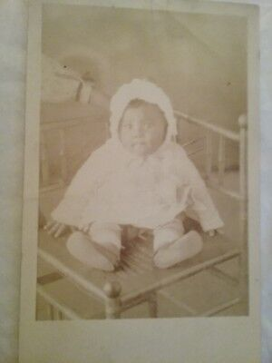 post card photograph of black baby