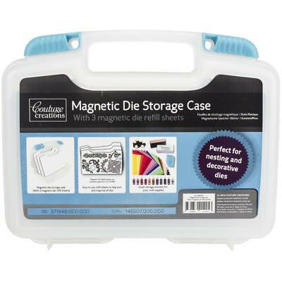 "Couture Creations Magnetic Die Storage Case 9.6""x 9.8""x2.9"" incl 3 mag. sheets"