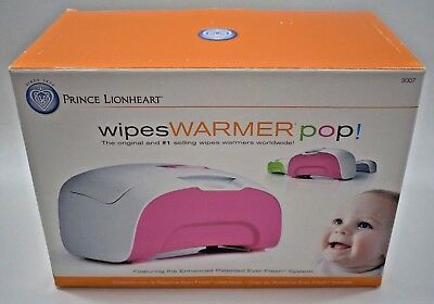 Wipes Warmer Pop! Pink Prince Lionheart New In Box