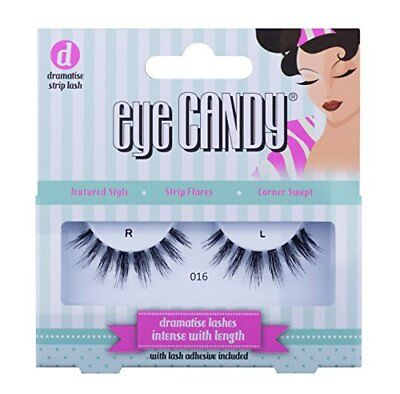 Eye Candy strip Lashes 016Dramatise 50's look naturale ciglia finte x (z2m)