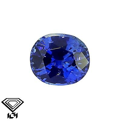IGI certified Blue Sapphire 0.36ct Natural Loose Gemstones.