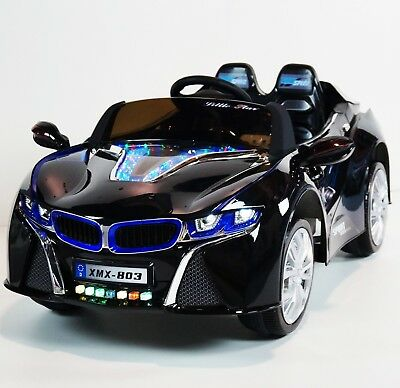 Bmw I8 Style Ride On Car Electric Toy For Kids 12v Battery Remote