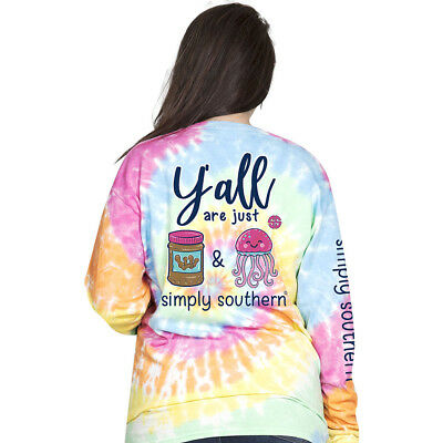 NWT-Simply Southern Long Sleeve- Peanut Butter and Jelly