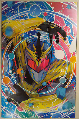 Mighty Morphin Power Rangers Shattered Grid #1 Variant 1:25