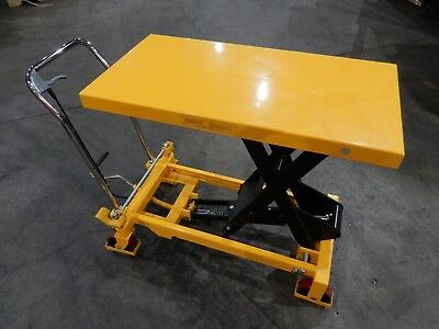 Wesco Industrial Products 272970 Heavy Duty Scissors Lift Table, 1,650-lb. Load